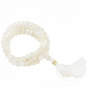 Mala Moonstone AA Quality 108 Beads with Bags