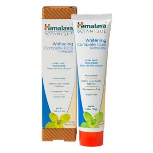 Himalayas Rerbals Whitening Complete Care Toothpaste Peppermint