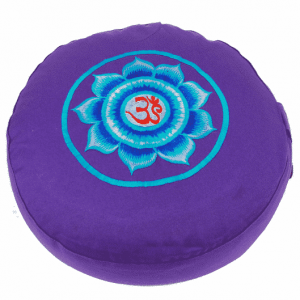 Meditation Cushion Ohm (violet)