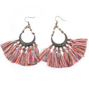 Bohemian Purple Earrings