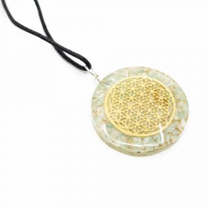 Orgon Pendant Flower of Life - Amazonite