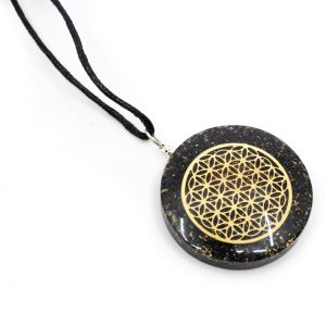 Orgon Pendant Flower of Life - Hematite