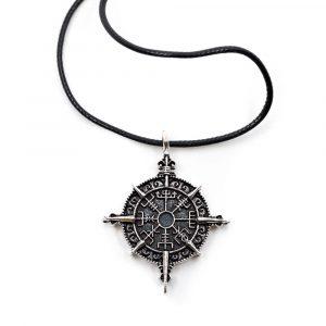 Amulet Viking Runes Compass