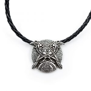 Amulet Viking Crows and All-Seeing Eye