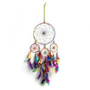 Dreamcatcher with Chakra Colours (55 cm)