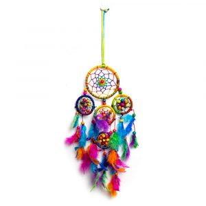 Dreamcatcher with Chakra Colours Small