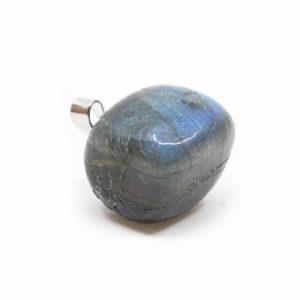 Gemstone Pendant Labradorite Tumbled(2 cm)