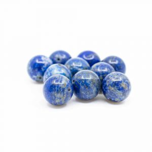 Gemstone Loose Beads Lapis Lazuli - 10 pieces (12 mm)