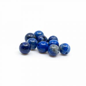 Gemstone Loose Beads Lapis Lazuli - 10 pieces (4 mm)