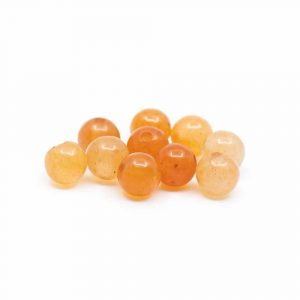 Gemstone Loose Beads Red Aventurine - 10 pieces (4 mm)