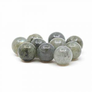 Gemstone Loose Beads Spectrolite - 10 pieces (10 mm)