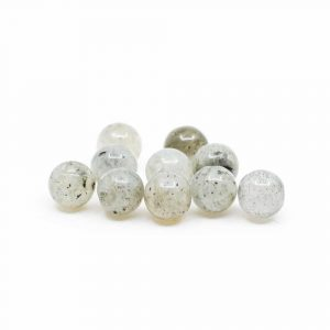 Gemstone Loose Beads Spectrolite - 10 pieces (4 mm)
