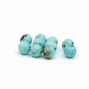 Gemstone Loose Beads Turquoise - 10 pieces (4 mm)