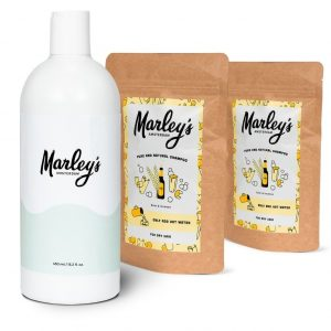 Marley's Shampoo Package - 2x Beer & Incense + Reusable Bottle