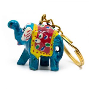 Elephant Painted Keychain Surprise (35 mm)