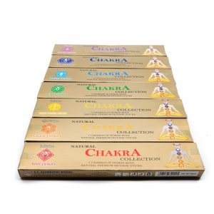 Incense 7 Chakra Gift Set (7 packages)