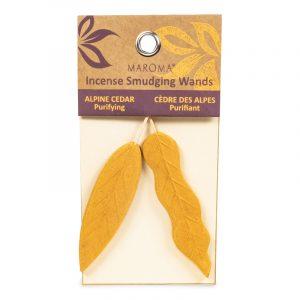 Maroma Smudge Incense Leaves Cedarwood - 25g