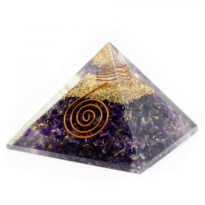 Orgonite Pyramid Amethyst (40 mm)