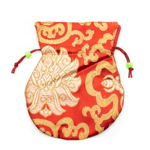 Brocade Bag Handmade - Red