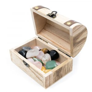 Treasure Box with Gemstones (200 grams)