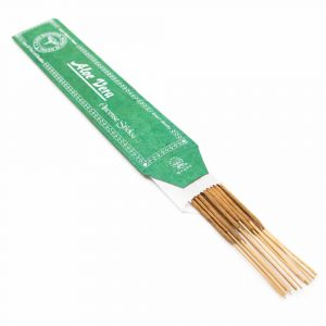 Tibetan Incense Sticks - Aloe Vera (15 pieces)