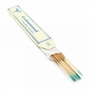 Tibetan Incense Sticks - Cedarwood (15 pieces)