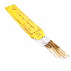 Tibetan Incense Sticks - Golden Nag Champa (15 pieces)