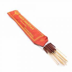 Tibetan Incense Sticks - Red Sandalwood (15 pieces)