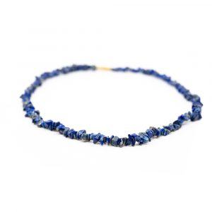 Gemstone Chip Necklace Lapis Lazuli (45 cm)