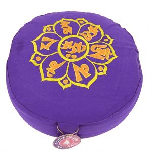 Meditation Cushion Ompmh (violet Yellow)