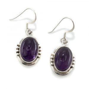 "Gemstone Earrings Amethyst 925 Silver ""Melha"""
