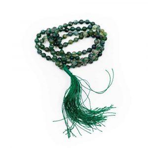 Gemstones Mala Moss Agate - 108 Beads