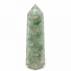 Orgonite Obelisk Green Aventurine (70 mm)