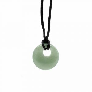 Gemstone Donut Green Aventurine (20 mm)