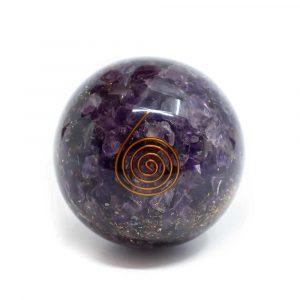 Orgonite Sphere Amethyst (60 mm)