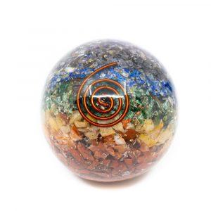 Orgonite Sphere Chakra (60 mm)