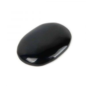 Pocket Stone Black Agate