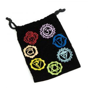 Velvet Bag 7 Chakras Handmade