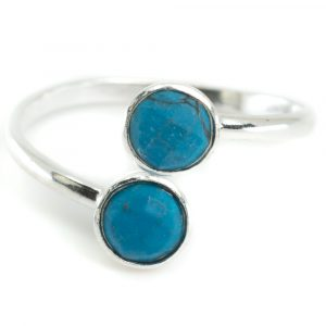 Birthstone Ring Turquoise December - 925 Silver