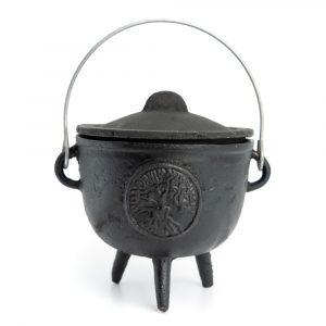 Witch Cauldron Cast Iron Tree of Life (11 Ø)