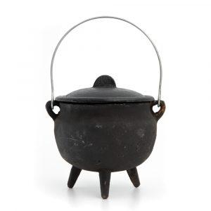 Witch Cauldron Robust Cast Iron (120mm Ø)