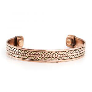 """Copper Magnet Bracelet """"Dual"""""""
