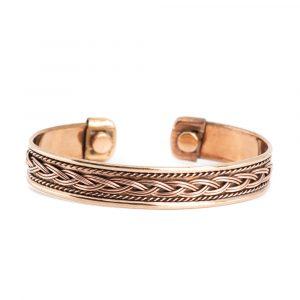 """Copper Magnet Bracelet """"Knots"""""""