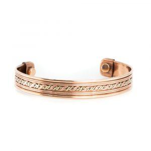 """Copper Magnet Bracelet """"Waves"""""""
