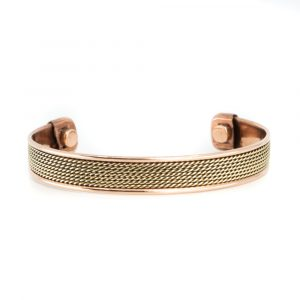 """Copper Magnet Bracelet """"Grid"""""""