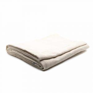 Meditation Blanket Handwoven - Natural - 100% Cotton