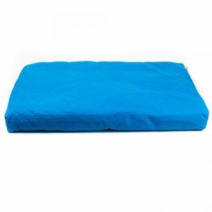 Meditation Mat Zabuton Turquoise - 86 x 66 x 6 cm - Incl. Inner Cover