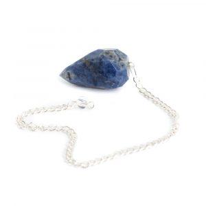 Pendulum Gemstone Sodalite Diamond Cut