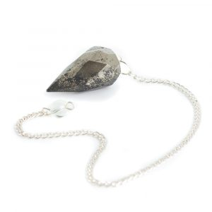 Pendulum Gemstone Hematite Diamond Cut