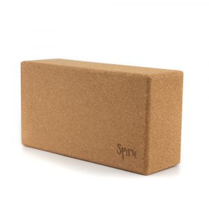 Spiru Yoga Block Cork Rectangular - 23 x 12 x 7.5 cm
